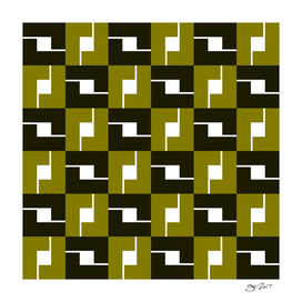Geometric Pattern #42 (mustard box)