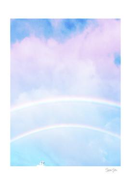 Double Rainbow Happiness