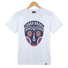 Lulua Ethnic Tribal Mask