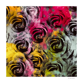 rose texture abstract