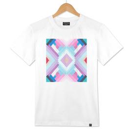drip geometric pattern
