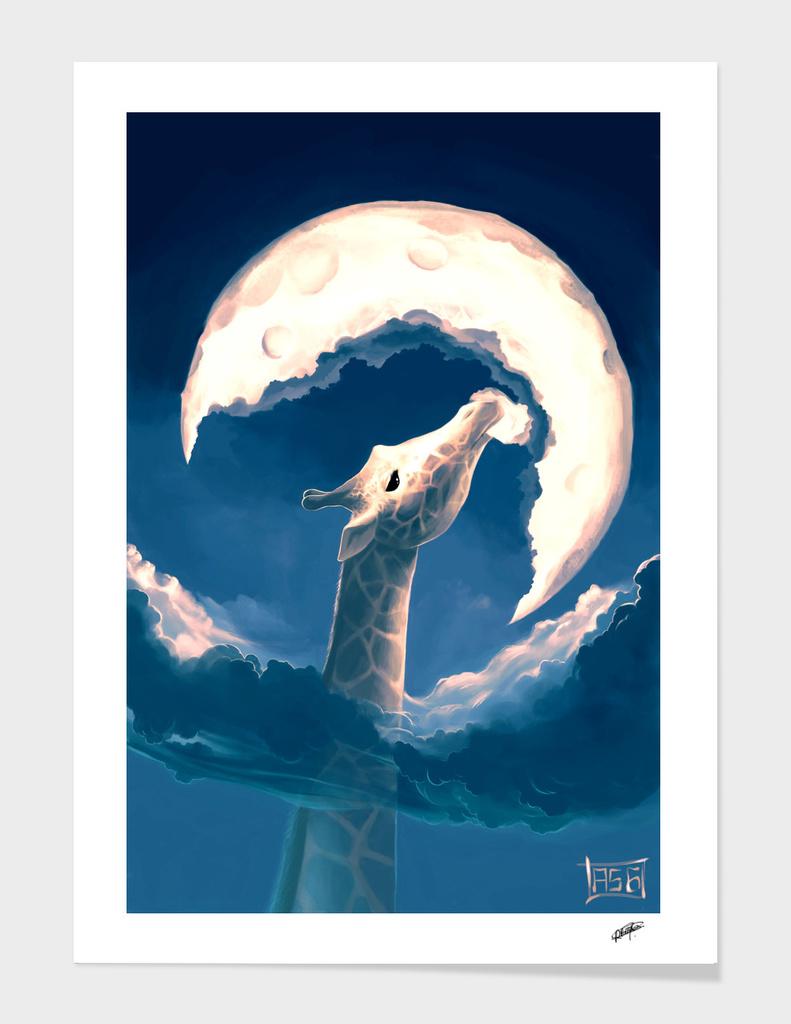 La Fable de la Girafe main illustration