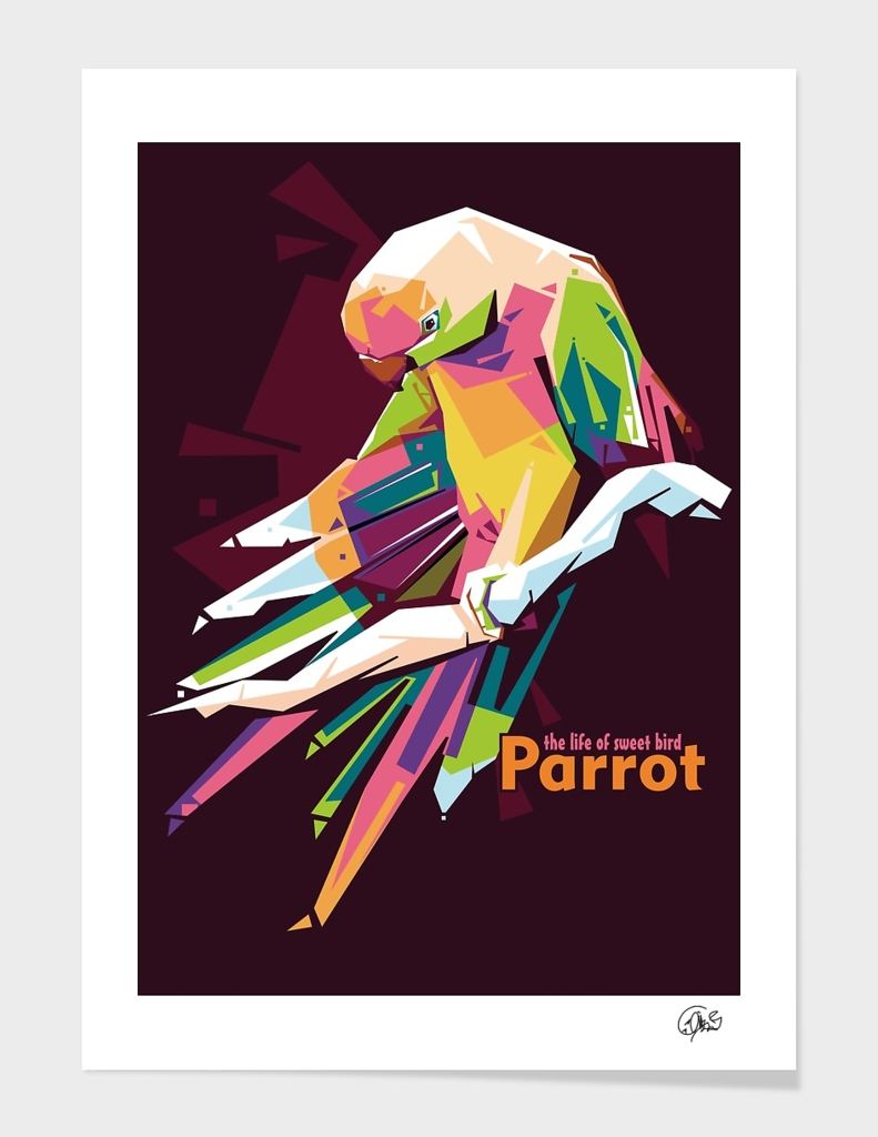 Parrot (the life of sweet bird) main illustration