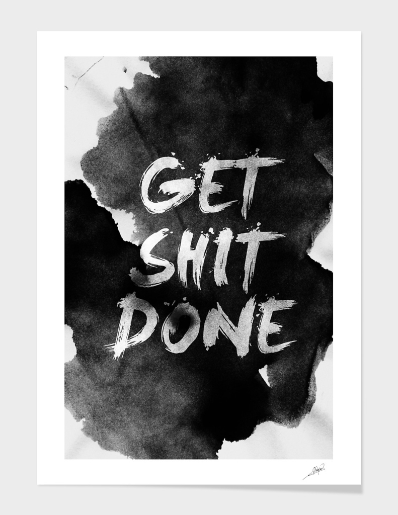 Get Shit Done main illustration