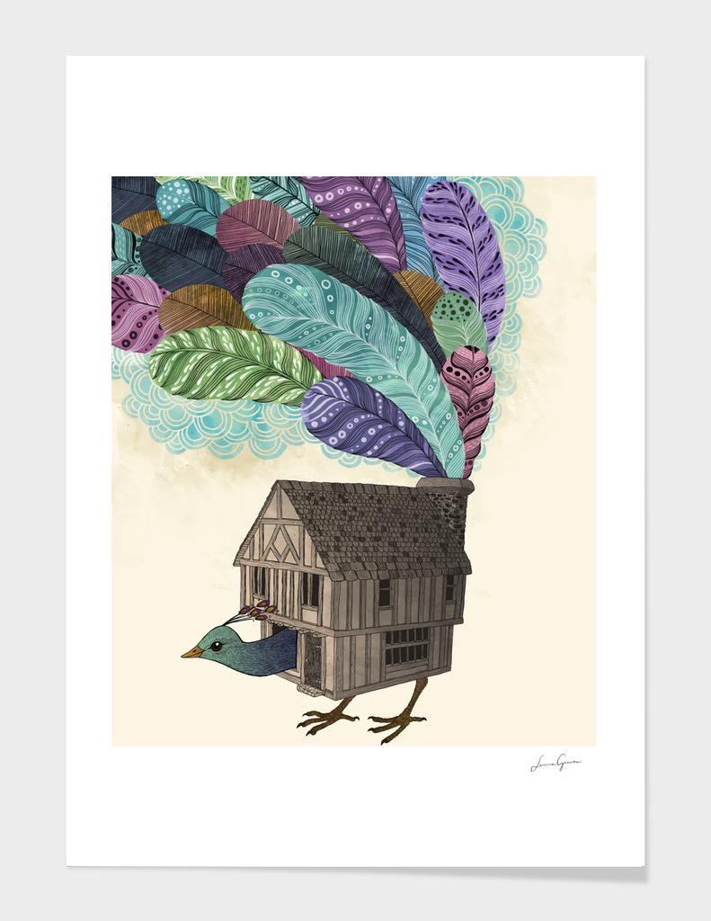 The Birdhouse main illustration