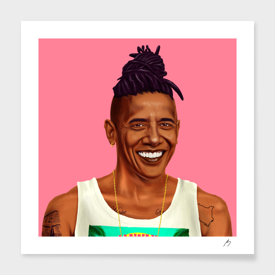 Obama main illustration