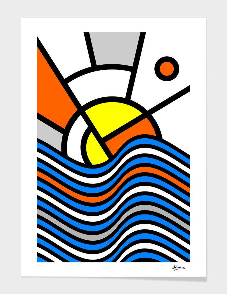 Abstracts 101: Sunset main illustration