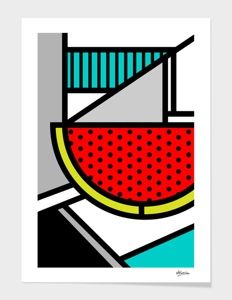 Abstracts 101: Watermelon main illustration