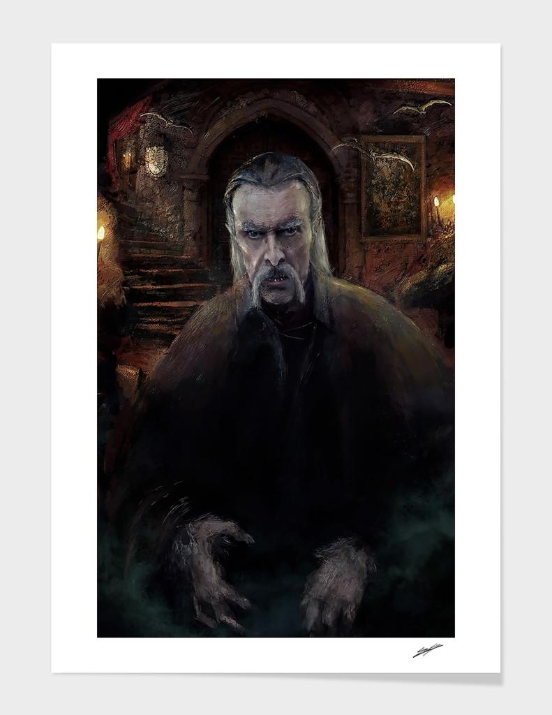 Bram stoker Dracula main illustration