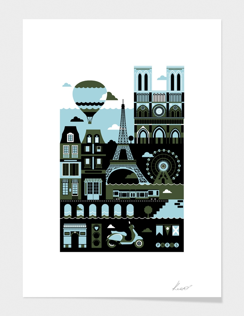 Paris main illustration