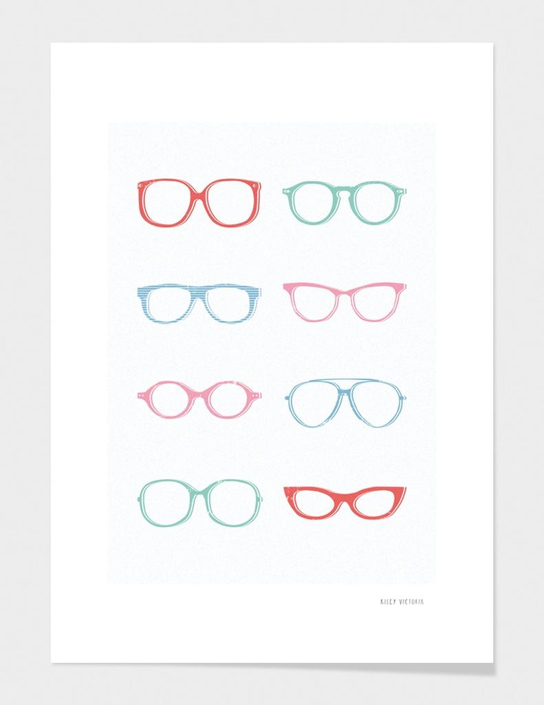 Glasses main illustration