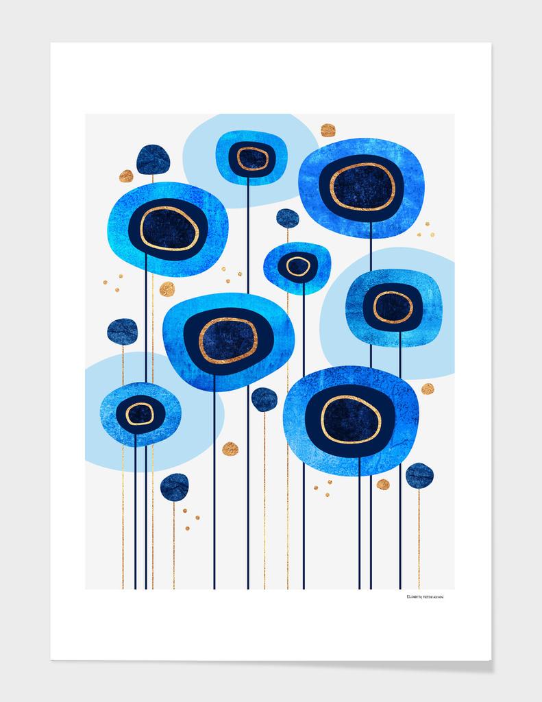 Floral Blues main illustration