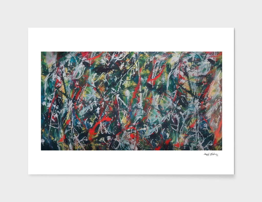 Abstract Composition 493