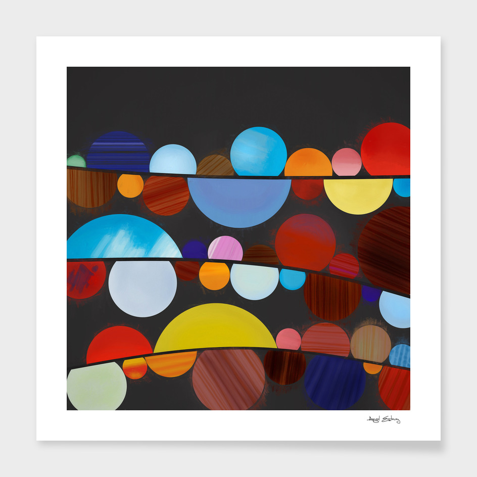 Abstract Composition 491