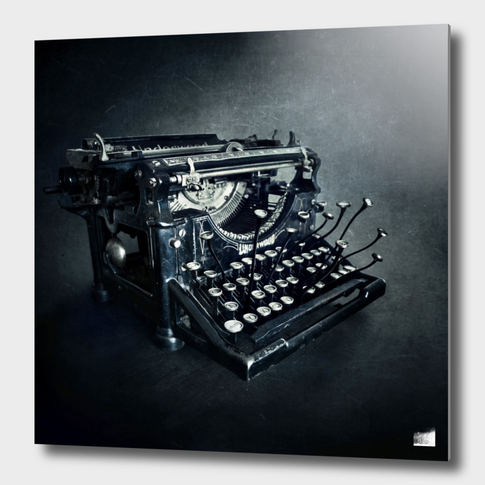 Typewriter main illustration