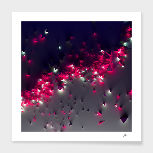 PolyComposition #2 Purple main illustration