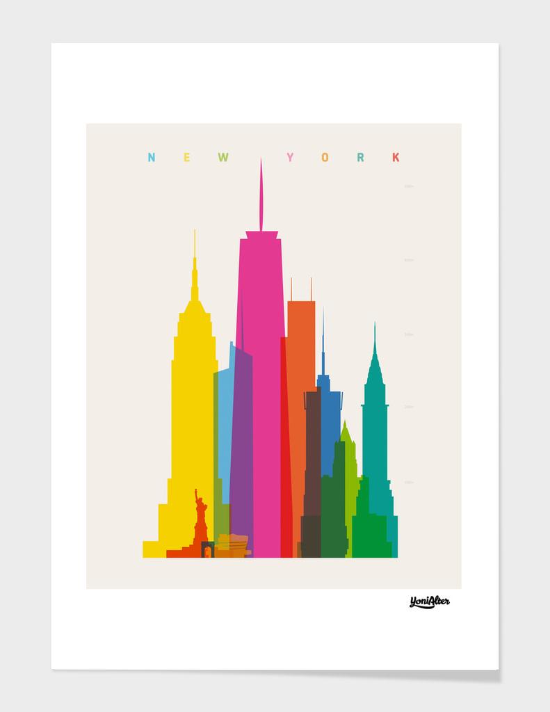 Shapes of NYC main illustration
