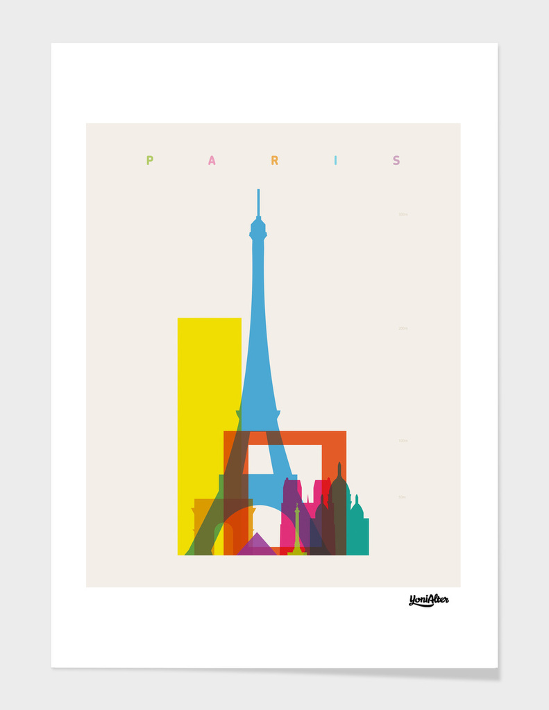 Shapes of Paris main illustration