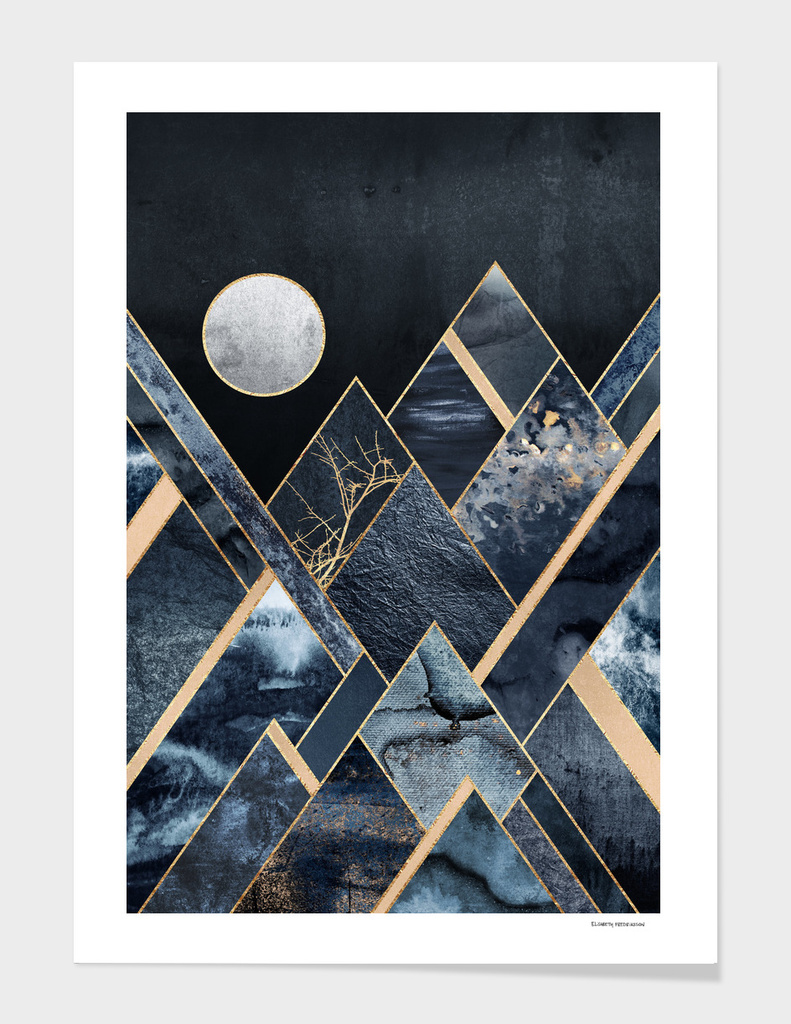 Stormy Mountains main illustration