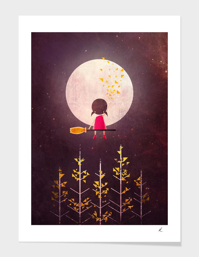 Little Night Wanderer main illustration