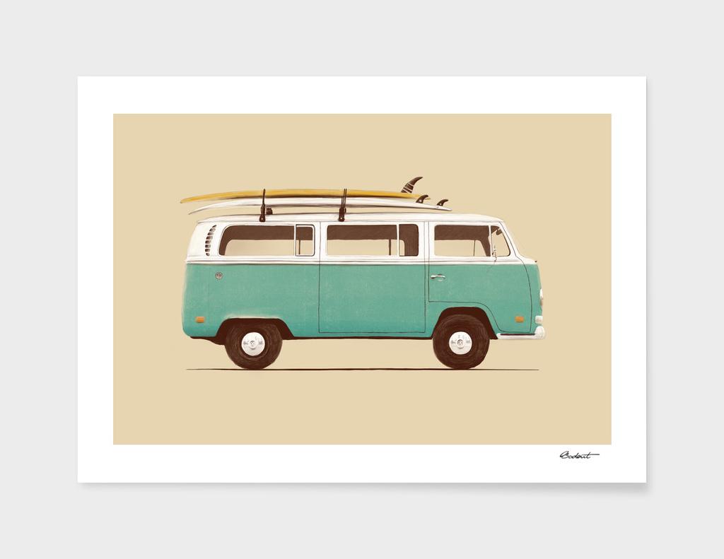 Blue Van main illustration