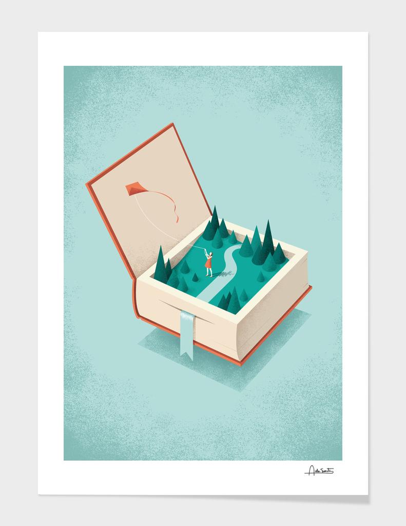 Flying main illustration