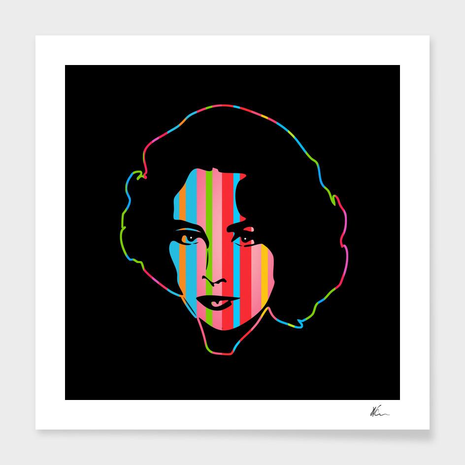 Elizabeth Taylor   Dark   Pop Art