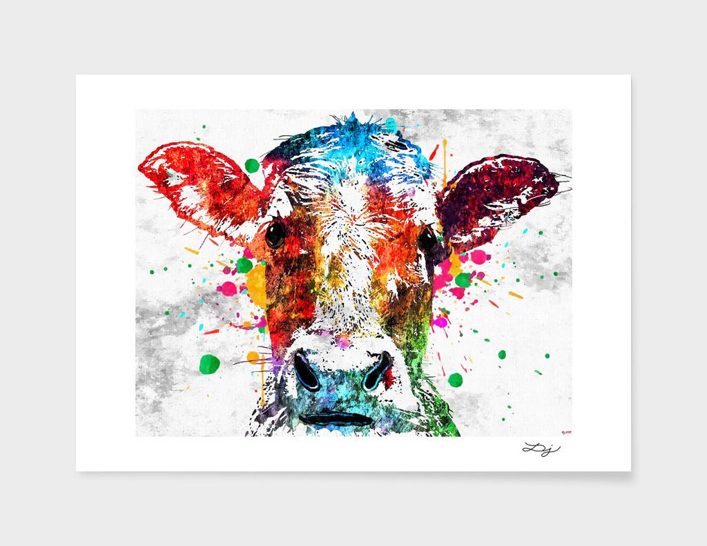 Cow Grunge main illustration