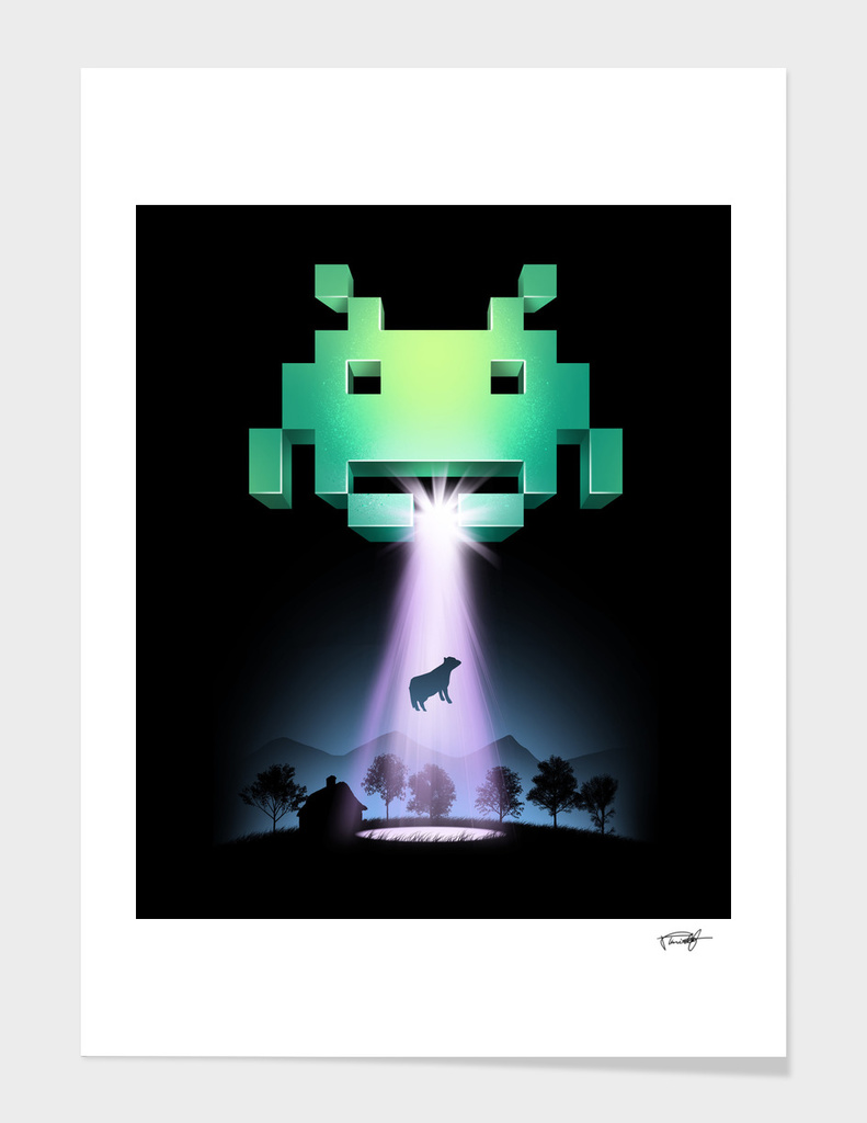 Space Invaders main illustration