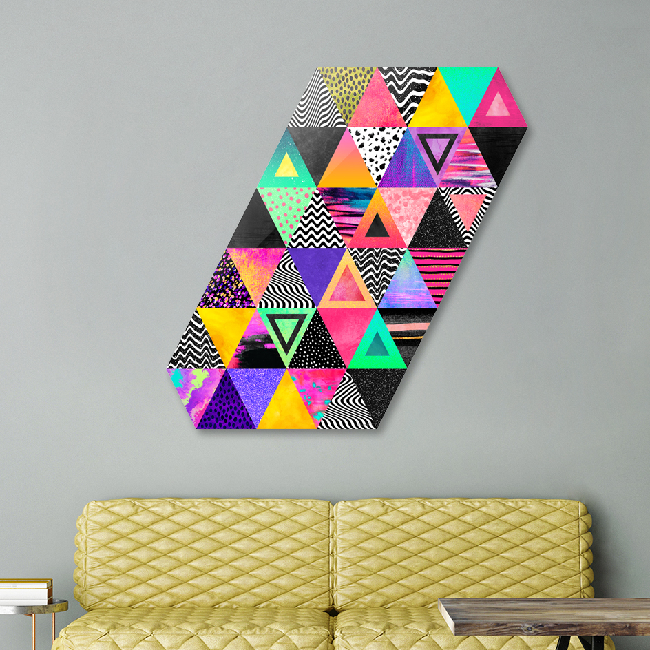 Quirky Triangles main illustration