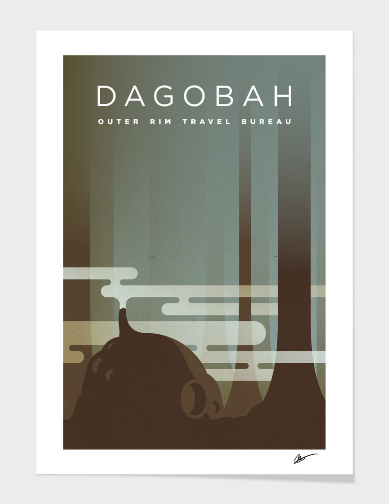 Outer Rim Travel Bureau: Dagobah main illustration
