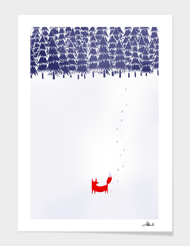 Alone in the Forest main illustration