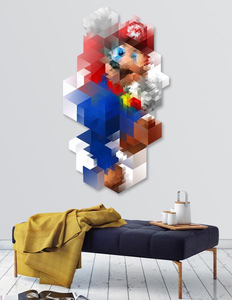 Super Mario main illustration