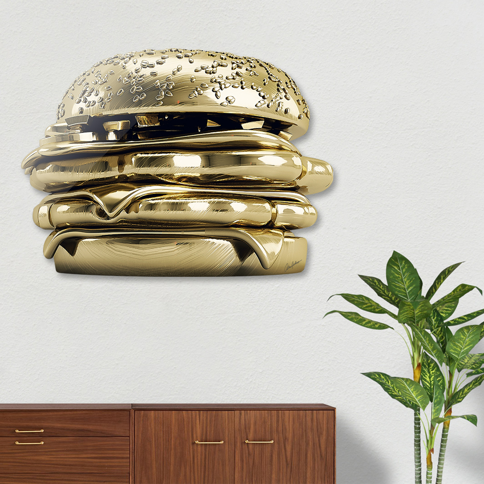 Golden Burger main illustration