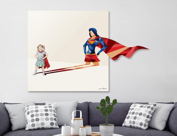 Walking Shadow, Heroine main illustration