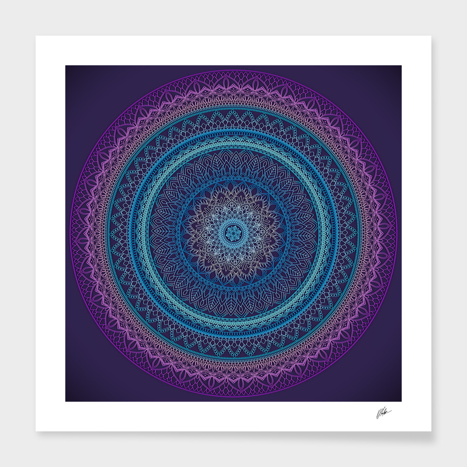 Digital Mandala main illustration