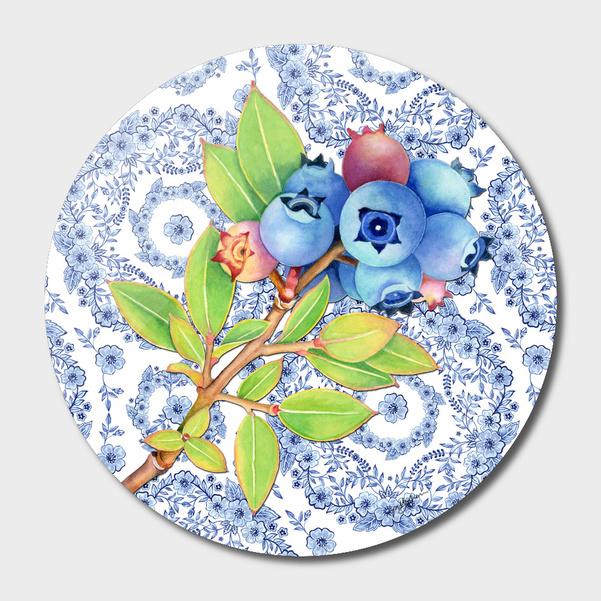 Blue Rhapsody Blueberries main illustration