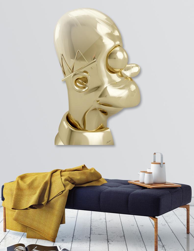 Golden Homer main illustration
