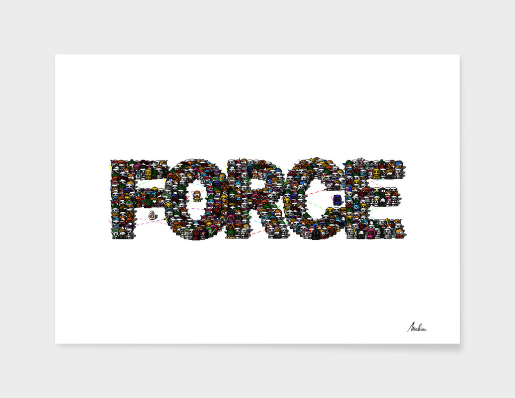May the Force be with you main illustration