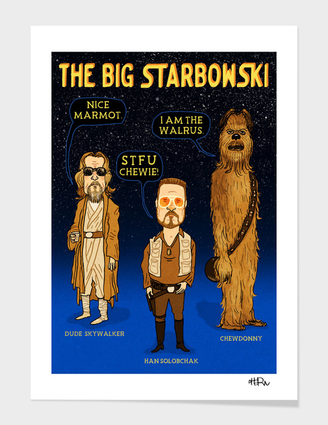 The Big Starbowski main illustration