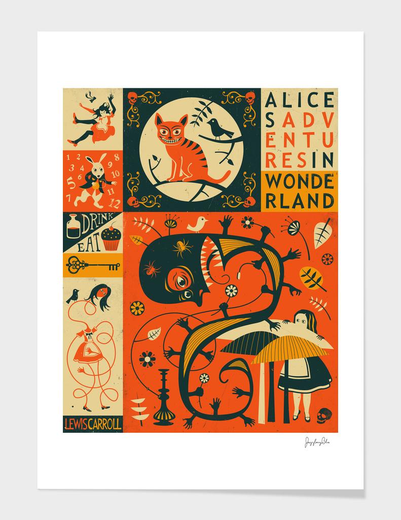 ALICE IN WONDERLAND main illustration