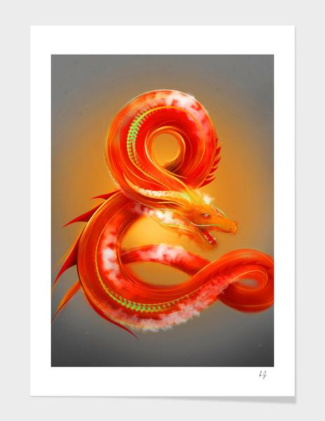 Dragon & Fire main illustration