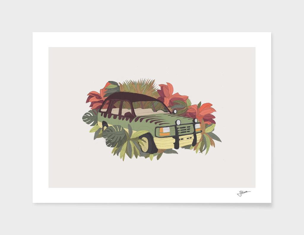 Jurassic Car