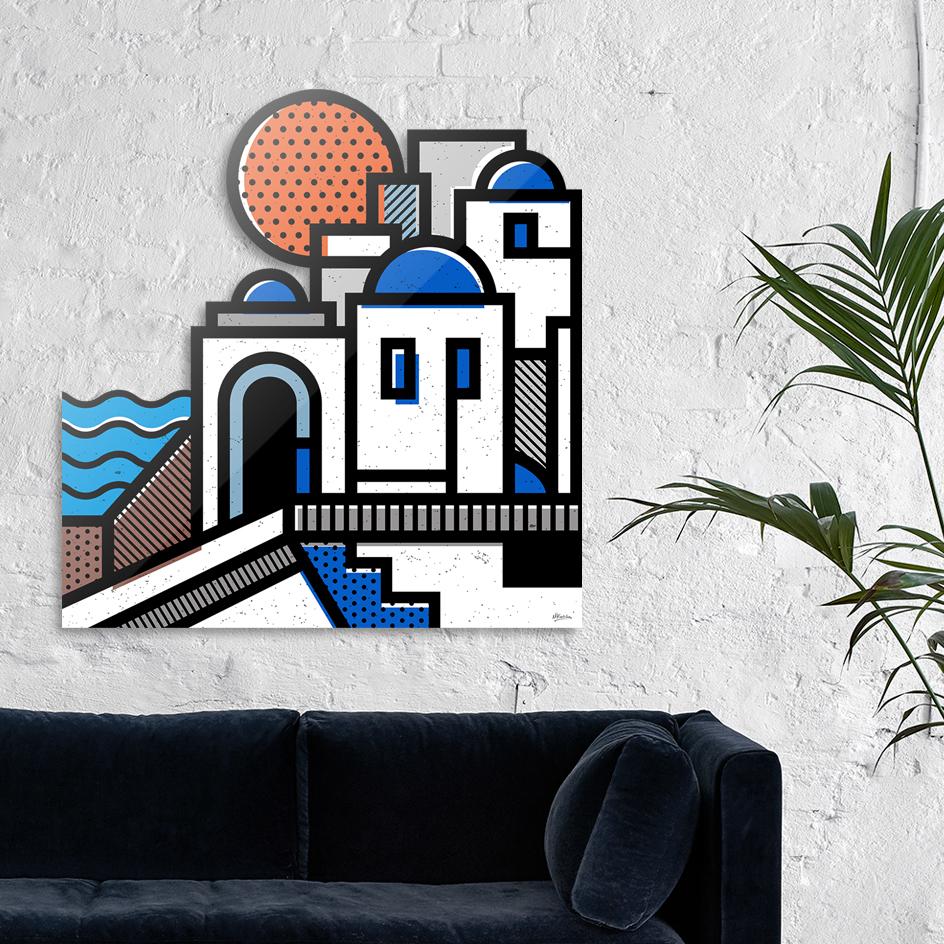 Santorini main illustration