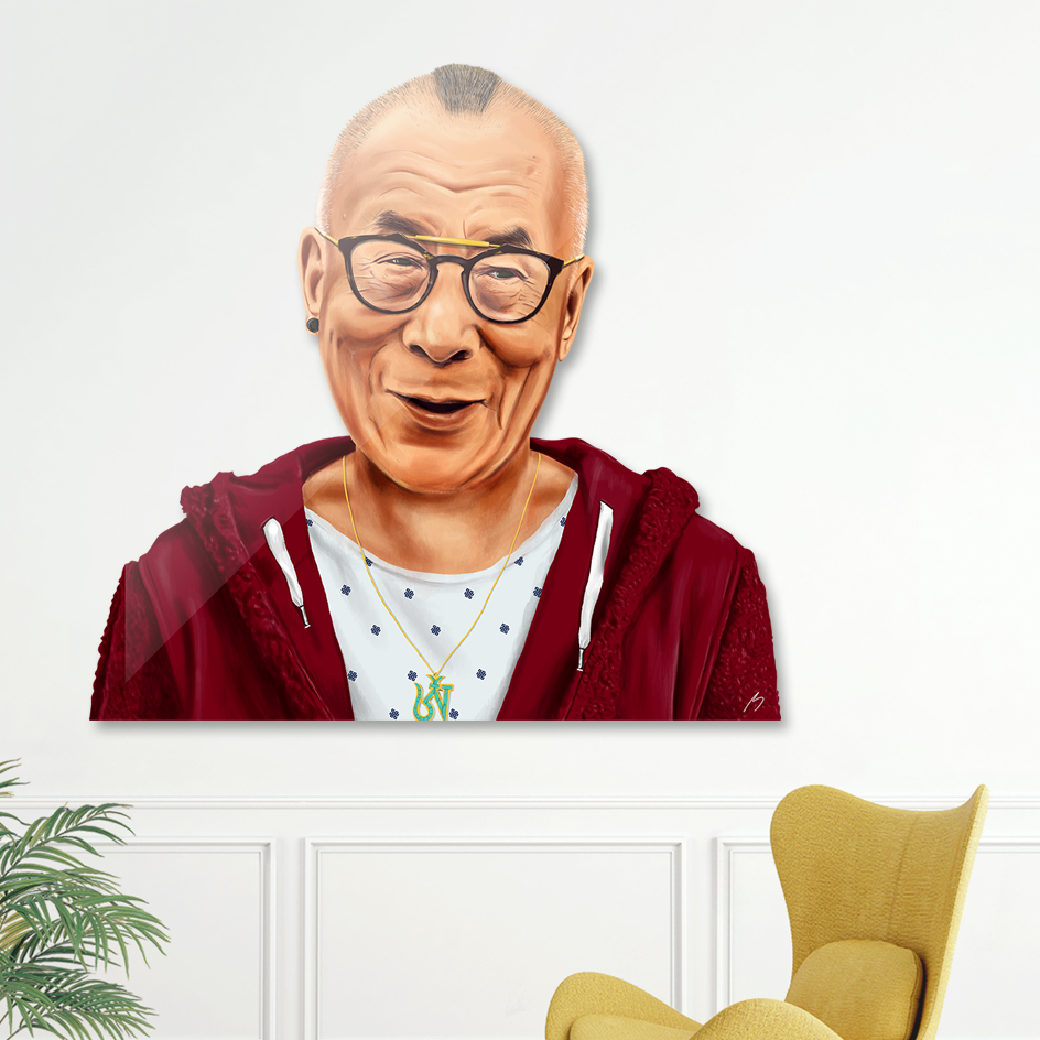 Dalai Lama main illustration