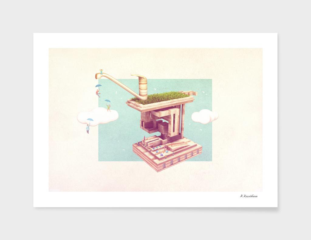 Raindrop main illustration