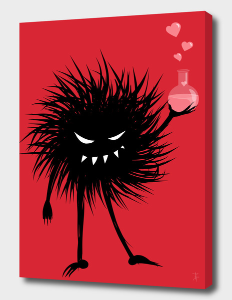Evil Bug With A Love Potion main illustration