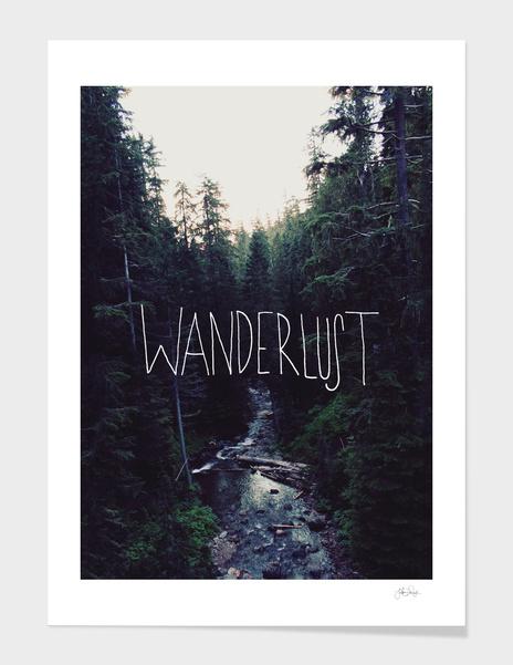 Wanderlust Rainier Creek main illustration