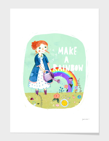 Make A Rainbow main illustration