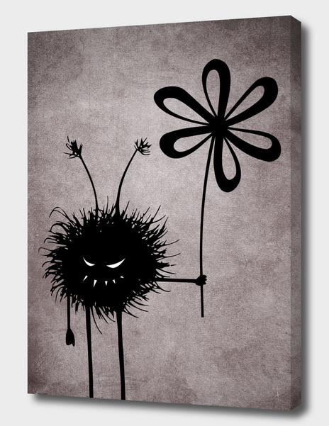 Evil Flower Bug Vintage main illustration